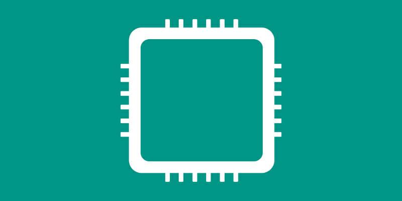 コンピューターのCPUのイラスト